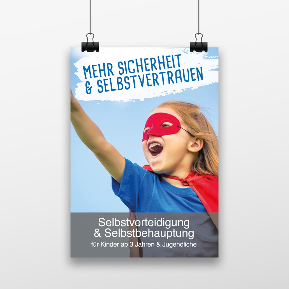 Sportschule DEFCON Kinderunterricht Folder