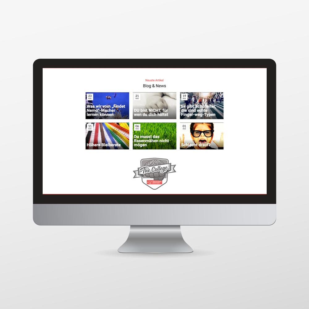 Homepage für den Berufsverband Kampfkunst