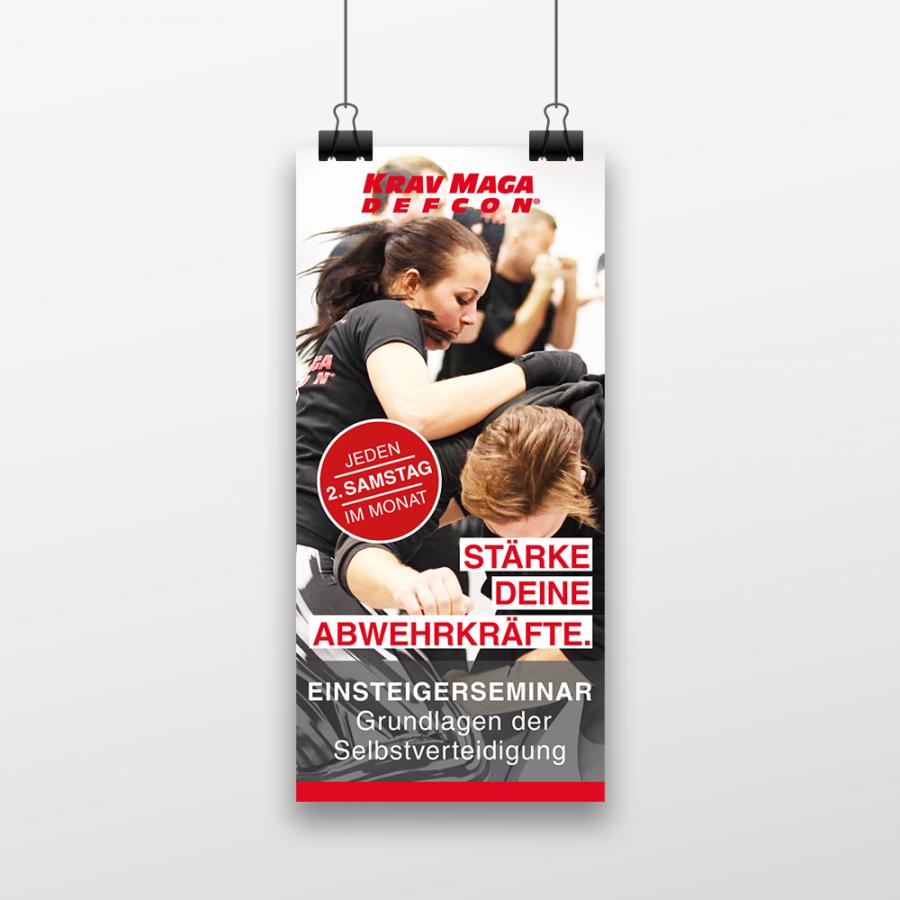 Krav Maga DEFCON® Ludwigsburg Flyer