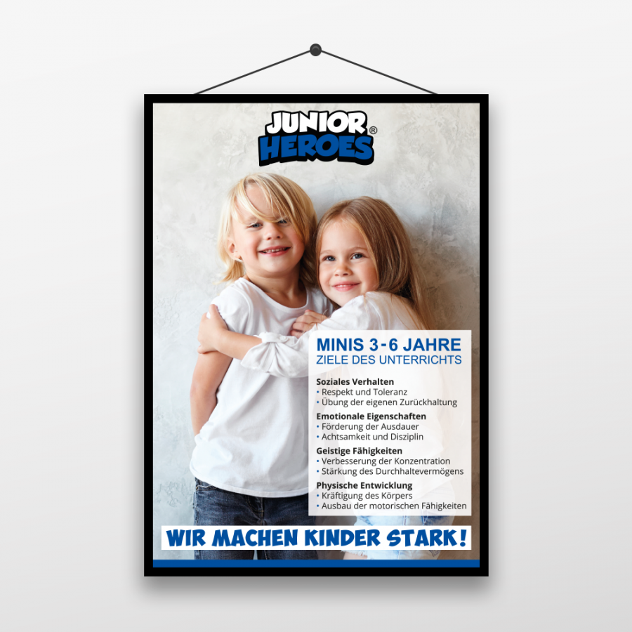 Junior Heroes Plakat