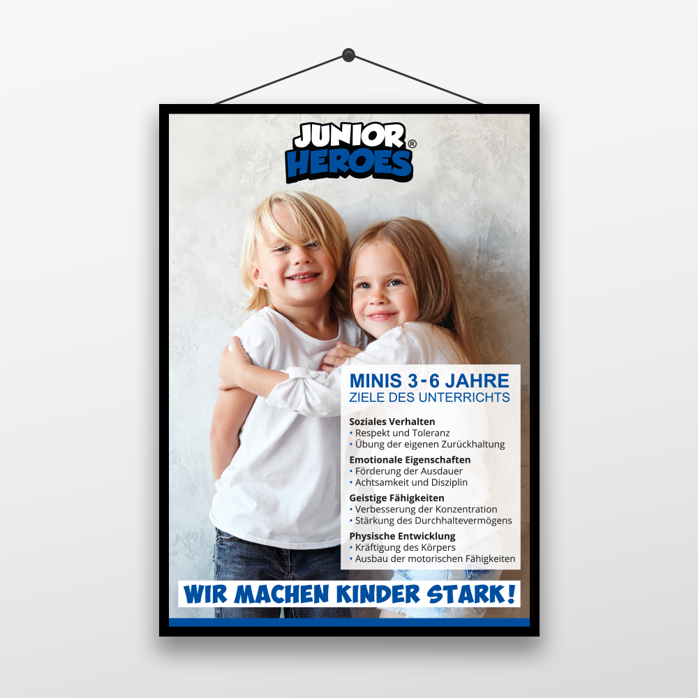Junior Heroes Plakat