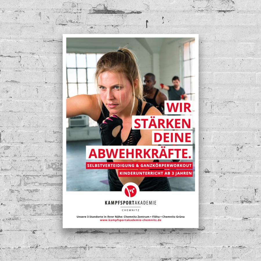 Kampfkunstakademie Chemnitz Plakat
